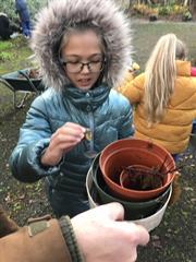 Exploring our School Garden with Geoff Hunt