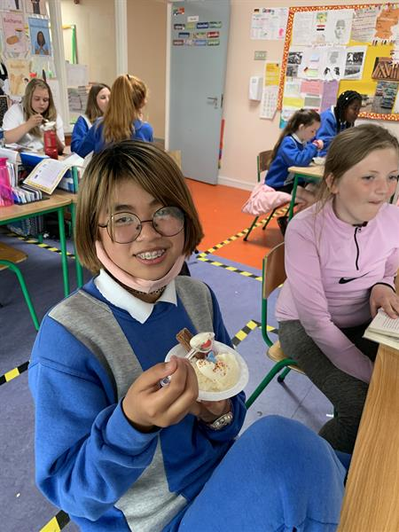 Ice- Cream Challenge for Ms Barry's